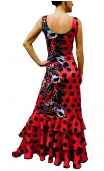 Vestido Marbella 3 Volantes
