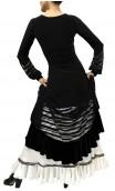 Vestido Adeline Devorê Listrado