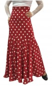 Polka Dots Marian Godet Long-Skirt