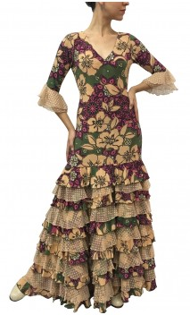 Vestido Violet Estampado