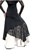Veruska Long-Skirt w/Lace