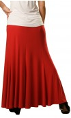 Rosario Long-Skirt with Vertical Ruffles