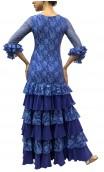 Vestido Rendado Hortensia 6 Babados