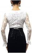 Cinturón AMAYA Negro con Blanco