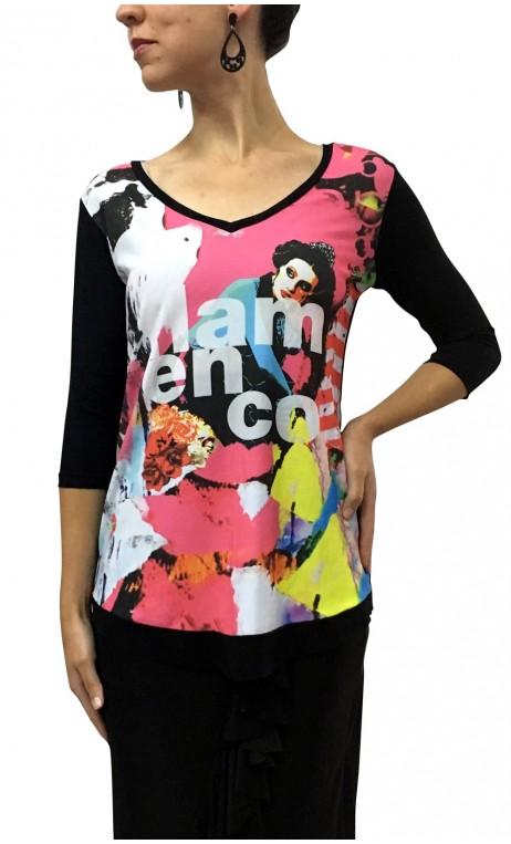 Flamenco Color Top