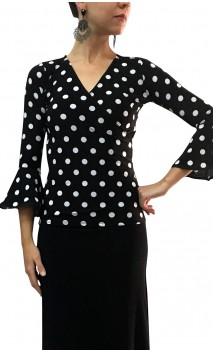 Polka-dots Jazmin Top