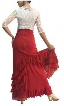 Milene Lace Skirt w/ Petticoat