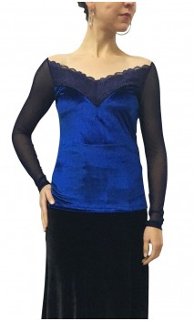 Velvet and Lace Lucía Top