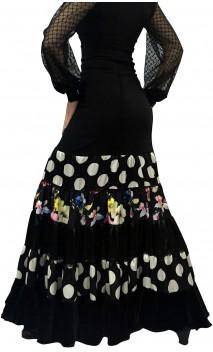 Velvet Canastera Long-Skirt
