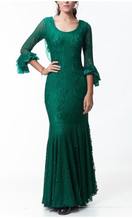 Vestido Alma de Renda c/ Fenda