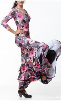 Vestido Dalia 3 Volantes