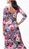 Vestido Dalia Floral 3 Babados