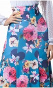 Floral Guadalupe Long-Skirt
