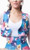 Guadalupe Floral Mini-Vest