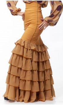Falda Carmela 6 Volantes