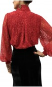 KARIME Lace Leotard-Shirt