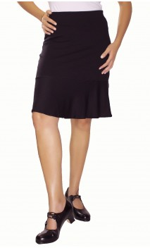 Solid Short-Skirt Teca