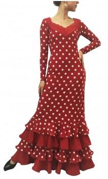 Vestido Lorena Lunares 4 Babados