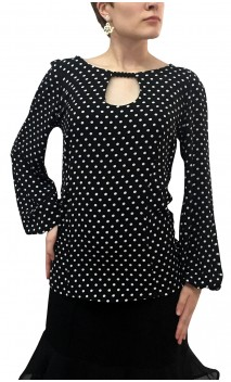 Polka-dots Consuelo Top