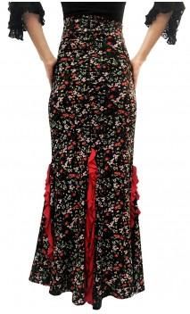 Floral Lola Skirt High Waist