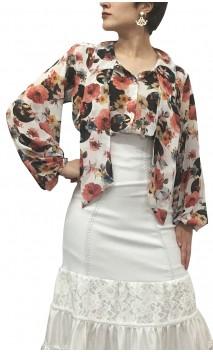 Camisa-Colant Carmela Chiffon Floral