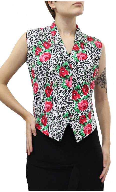 Julia Printed Vest