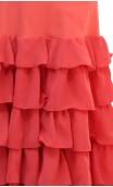 Carmela Long-skirt 6 Ruffles