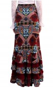 Arabesque Printed Colin Long-Skirt