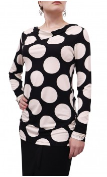 Perla Top Polka-Dots
