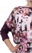 Colored Polka-Dots Top
