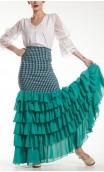 Elena Long-skirt 6 Ruffles