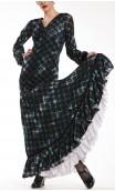 Vestido Carlota Tule Estampado