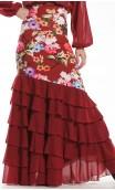 Neo Garden Long-skirt 6 Ruffles