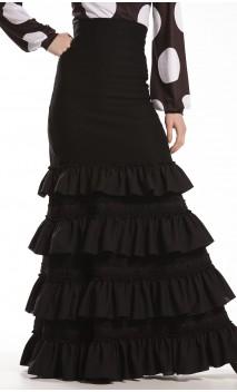 Tanya 4 Ruffles Long-Skirt