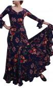 Liza Godet Printed Long-Dress