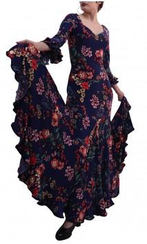 Vestido Liza Godet Estampado