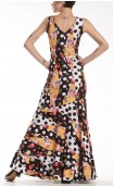Godet Diamond Long-Dress