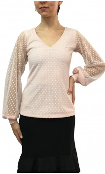 Martina Tulle Blouse