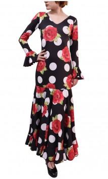 Vestido Luna Floral Godet