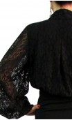 KARIME Lace Leotard-Shirt