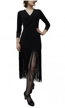 Vestido Curto Nadine c/Franja