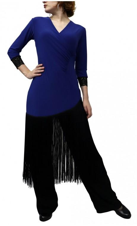 Short Dress Nadine w/Fringe
