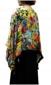 Kimono-Style Printed Jacket