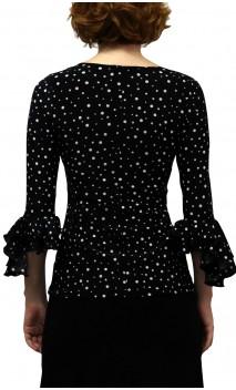 Lucy Printed Top 3/4 sleeves