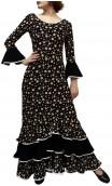 Daisy Long-Dress 3 Ruffles