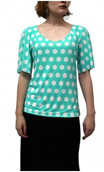 Grace Polka-dots Blouse