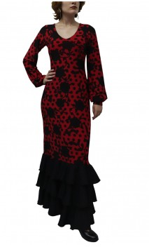 Printed Amelia Long-Dress