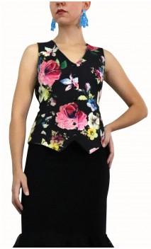 Colete Carolina Floral