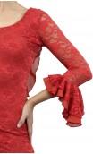 Vestido Alma Encajes c/ 1 Godet