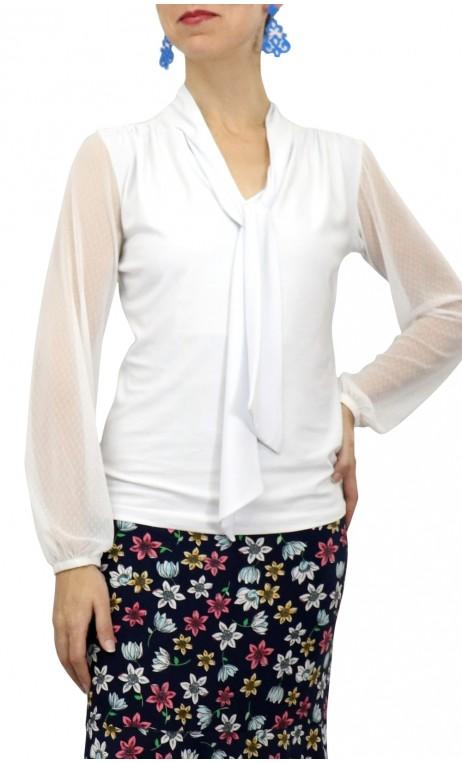 CARMEN Crepe Leotard-Shirt